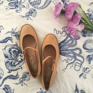 Jeffrey Campbell Leather Mary Jane Flats